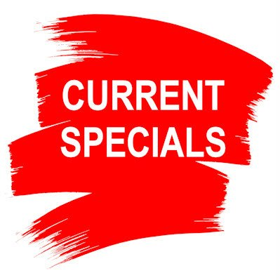 current specialsour current specials and clearance lines