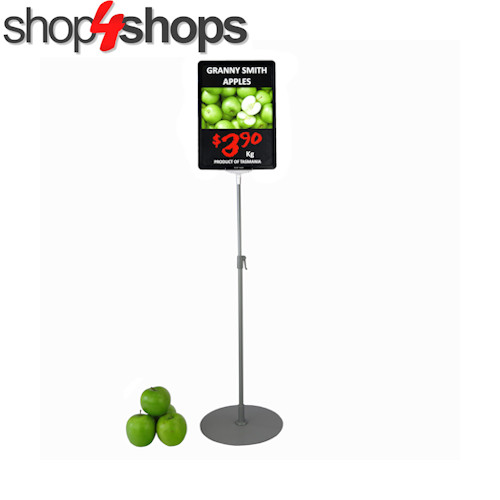Medium Telescopic Ticket Frame Stand Set