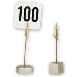 Buy Metal Table Number And Card Holders Clip Style